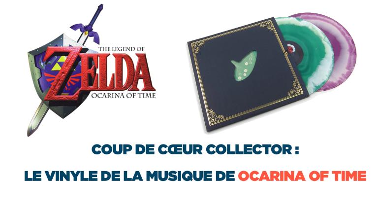 Coup de cœur collector : le Vinyle Ocarina of Time de The Legend Of Zelda