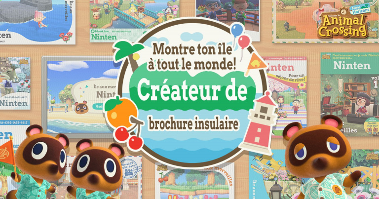 Animal Crossing New Horizons : créer sa brochure insulaire, notre guide