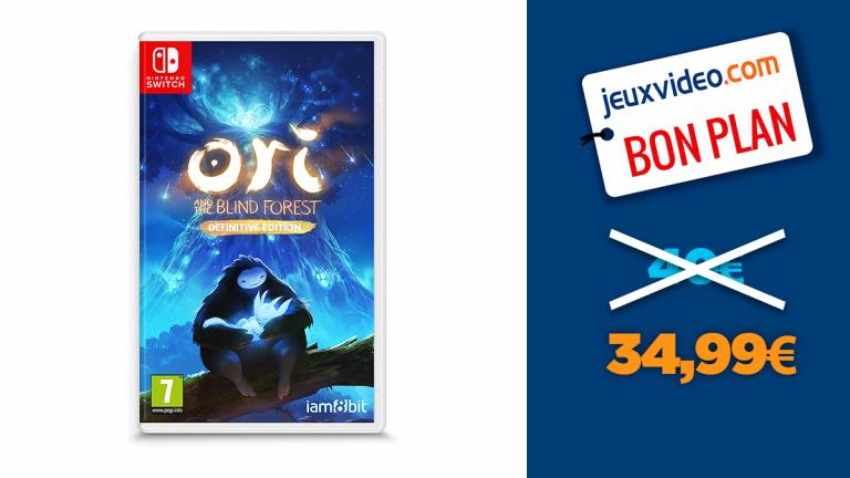 Bon plan Nintendo Switch : Ori and the Blind Forest Definitive Edition à moins de 35€