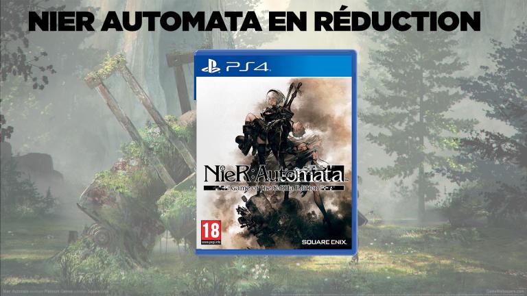 Bon plan PS4 : NieR Automata Game of the YoRHa Edition en réduction
