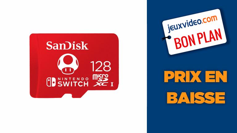 Bon plan SanDisk : la carte microSD 128Go en réduction à moins de 25€