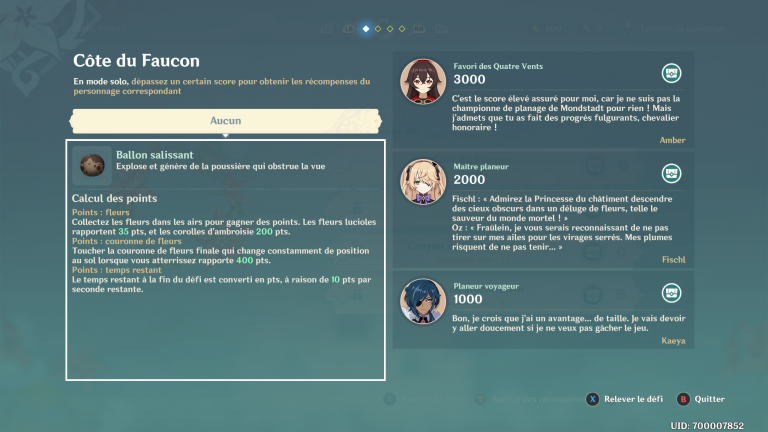 Genshin Impact : L'Invitation des alizées, tout savoir sur le nouvel événement (Nouvelles épreuves)