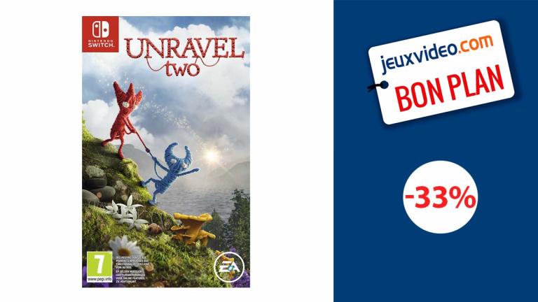 Unravel Two sur Nintendo Switch à moins de 20€