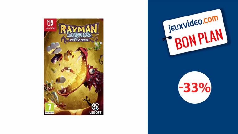 Rayman Legends Definitive Edition Nintendo Switch à moins de 20€