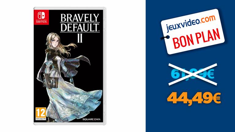 Bon plan Nintendo Switch : -28% sur Bravely Default II