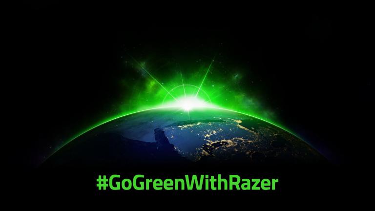 La marque Razer s'engage en faveur du développement durable