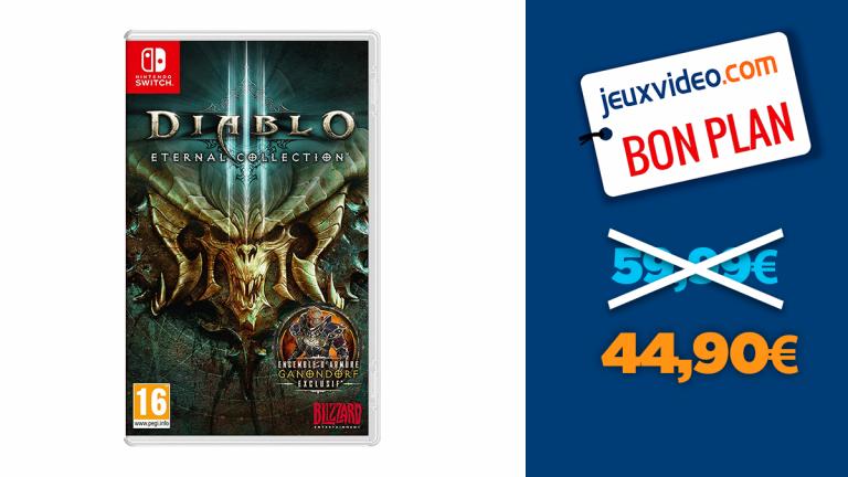 Bon plan Nintendo Switch : -25% sur Diablo III Eternal Collection