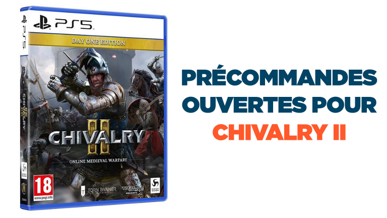 Précommandes PS5 : Chivalry II disponible