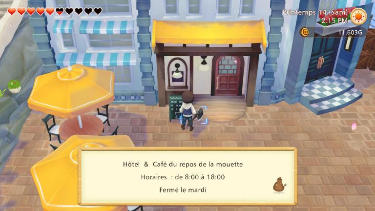 """Hôtel-Café """"Le repos de la mouette"""