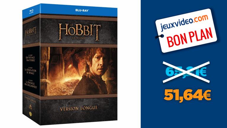 Bon plan Amazon : -21% sur la trilogie Le Hobbit en version longue blu-ray