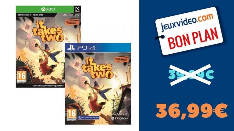 It Takes Two version PS4 et Xbox One au meilleur prix