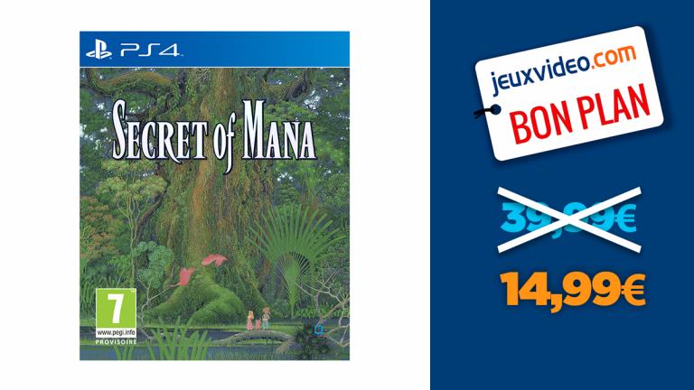 Secret of Mana : le jeu PS4 en réduction à -63%
