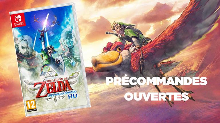 Précommandez The Legend of Zelda Skyward Sword sur Nintendo Switch