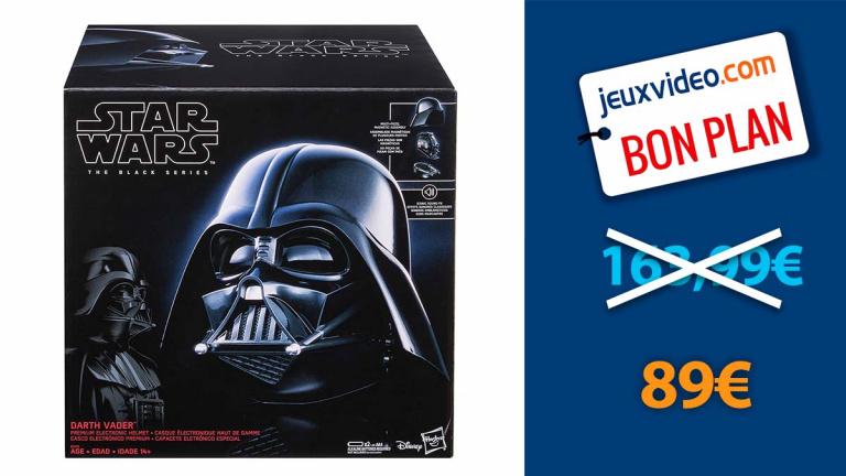 Casque Electronique Dark Vador Star Wars en promotion
