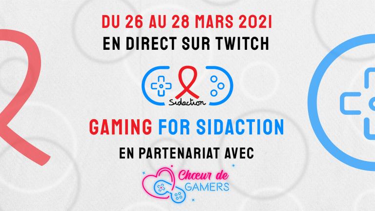 Gaming For Sidaction : De très bons chiffres pour l'événement caritatif