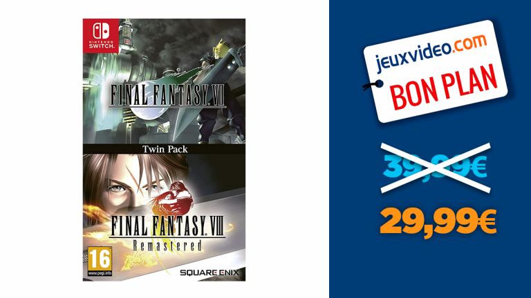 Final Fantasy VII et VIII Remaster à -25%
