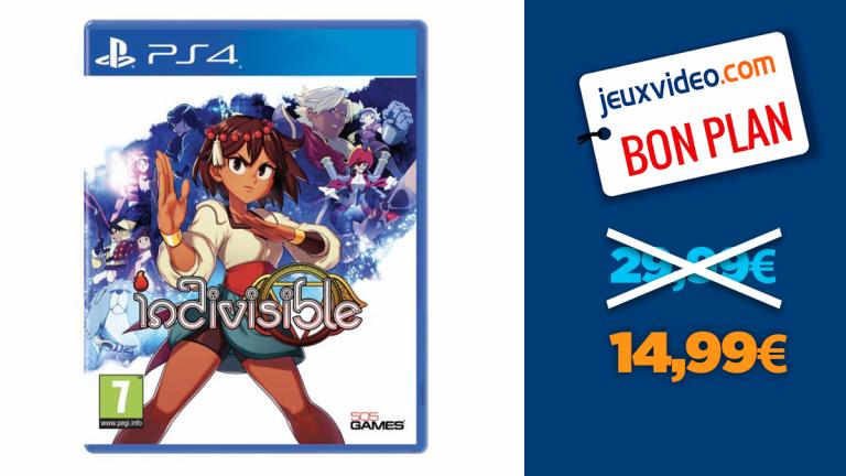 Indivisible sur PS4 en promotion à -50%