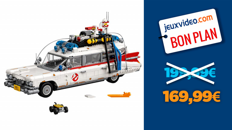 S.O.S. Fantômes : -15% sur la version LEGO de la Cadillac du film