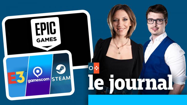 Va-t-on vers la fin des salons JV ? Epic Games est-il en train de conquérir le cœur des joueurs ? On en parle dans JV le journal à 12h30.