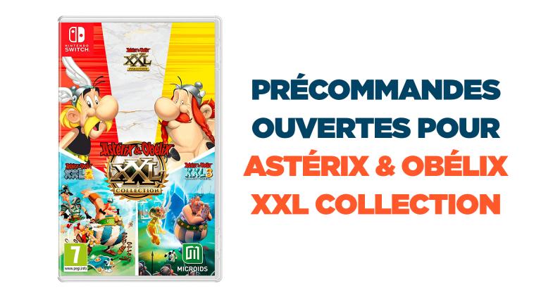 La compilation des Asterix & Obelix XXL est en précommande