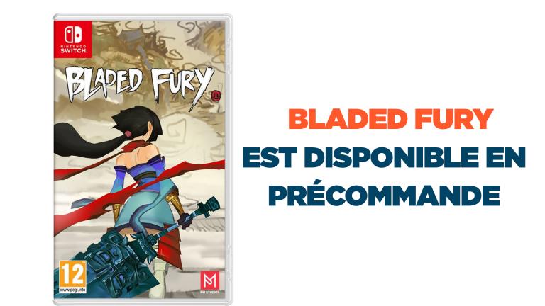 Les précommandes du jeu Bladed Fury sur Nintendo Switch sont ouvertes