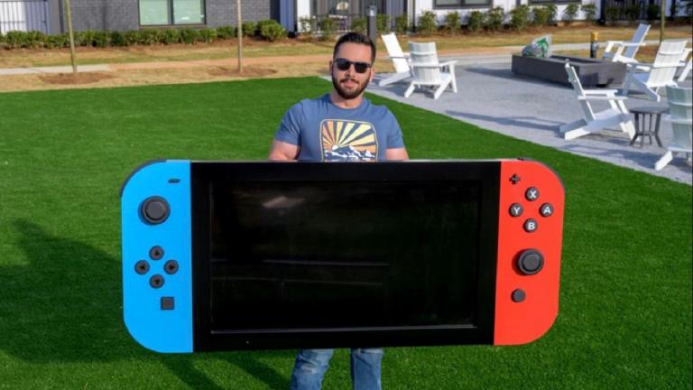 Voici la plus grande Nintendo Switch fonctionnelle au monde