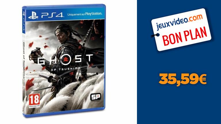 Deal PS4 : Ghost of Tsushima au meilleur prix