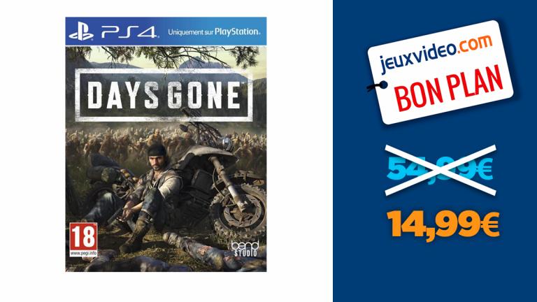 L'Édition Spéciale de Days Gone sur PS4 à -73%