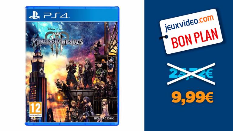 Coup de Keyblade sur les prix : Kingdom Hearts 3 à moins de 10€