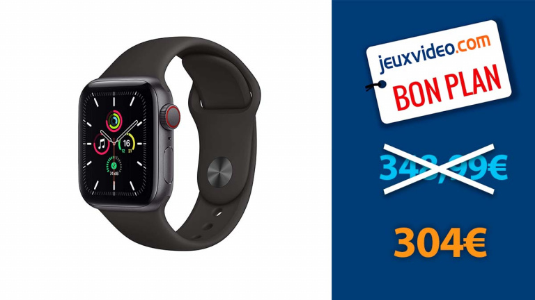 La montre connectée Apple Watch SE au tarif le plus bas depuis son lancement