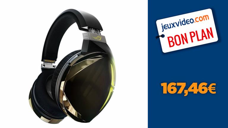 Le casque gamer Asus ROG Strix Fusion 700 au prix le plus bas
