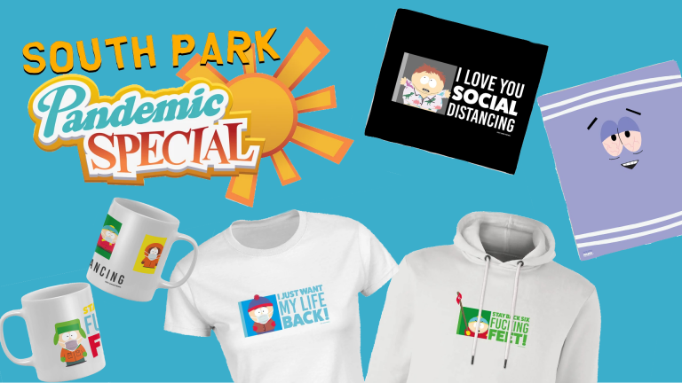 South Park Pandemic Special : promotions sur la ligne de vêtements chez Zavvi