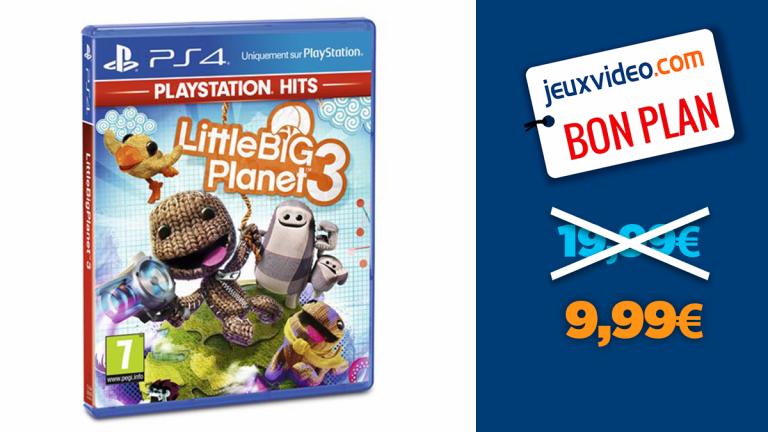 -50% sur Little Big Planet 3 sur PS4