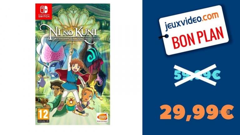 Promo Nintendo Switch : Ni No Kuni : La vengeance de la sorcière Céleste à -50%