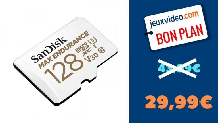 SanDisk MAX ENDURANCE : Carte SD de 128 Go conçue et testée en conditions extrêmes