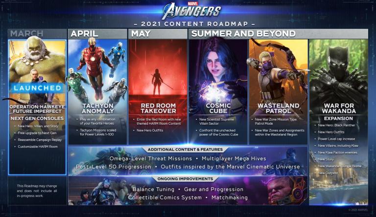 Marvel's Avengers - La Pièce Rouge de Black Widow précise sa date de sortie