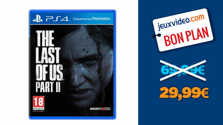 The Last of Us Part 2 : l'exclu PS4 au meilleur prix