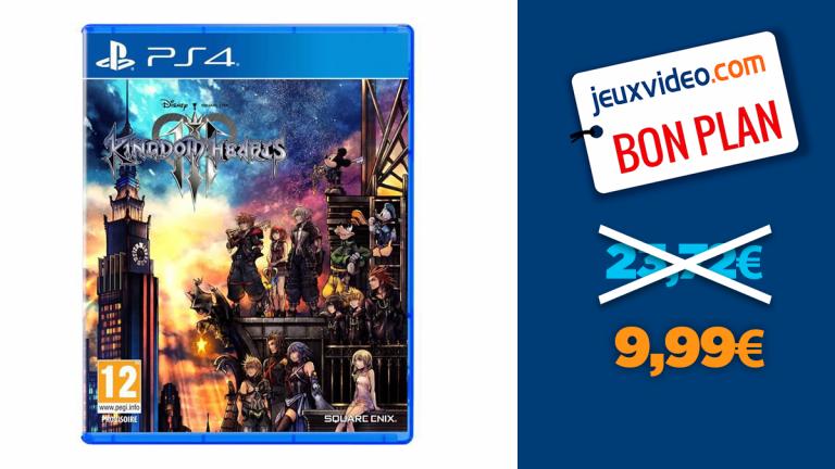 Kingdom Hearts 3 en promo à moins de 10€