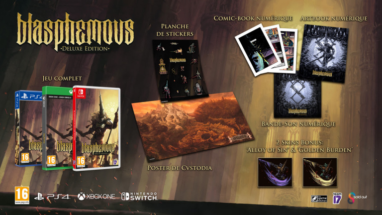 Blasphemous : Une édition Deluxe pour le Metroidvania en pixel-art