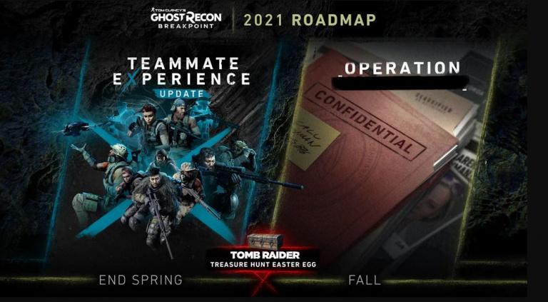 Ghost Recon Breakpoint présente sa feuille de route pour 2021