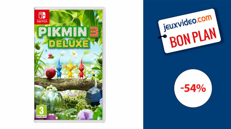 Pikmin 3 Deluxe en promotion à prix jamais vu sur Nintendo Switch