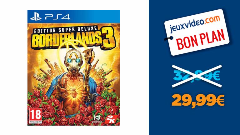 Borderlands 3 Super Deluxe, le shooter-looter de référence à moins de 30€