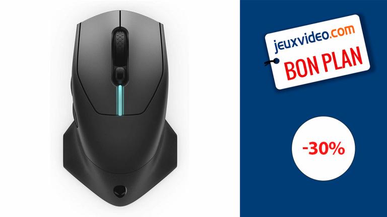 La souris gamer sans-fil Alienware en réduction de 30% !