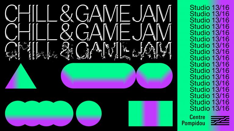 Chill & Game Jam du Centre Pompidou : trois livestreams de débrief ce samedi sur Twitch