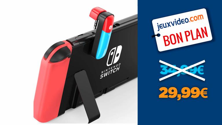 Connectez votre casque Gamer à votre Nintendo Switch : l'adaptateur à moins de 30€