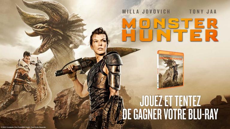 Jouez et tentez de gagner votre Blu-ray Monster Hunter