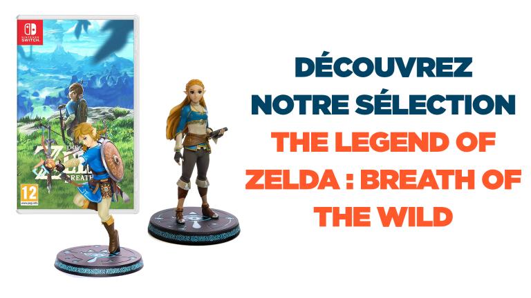 The Legend of Zelda : Breath of the Wild, notre sélection de bons plans et de goodies