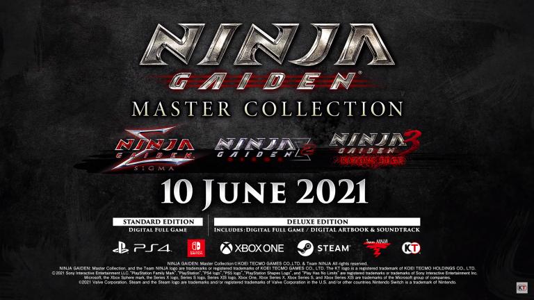 La Ninja Gaiden Master Collection met en scène ses personnages