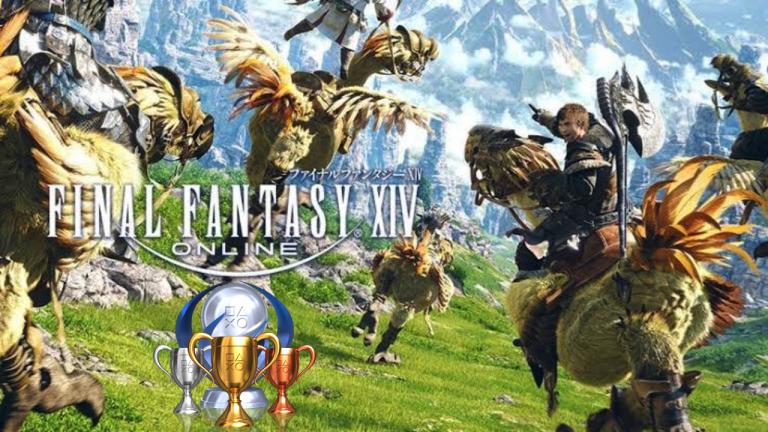 Final Fantasy XIV : la liste des trophées PS5 est disponible