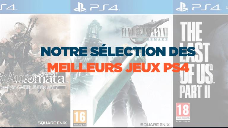 Les meilleurs jeux PS4 à acheter ce mois-ci